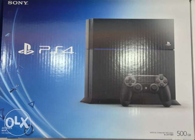 PlayStation 4 - 500Gb - New