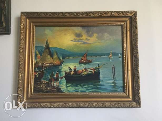 Oil on wood Reproduction from Ivan Aivazovski's Original