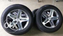G CLASS G55 wheels and tires set of 4
