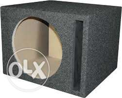 2 Subwoofer box 12 inch