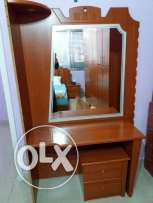 Home appliances. Mirror and komod