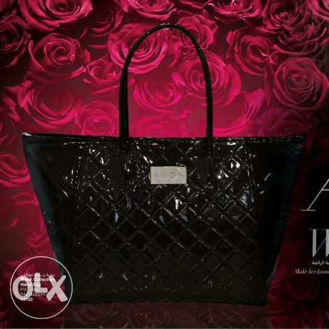 Avon new collection black big bag