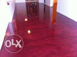 New flooring technology instead of tiling