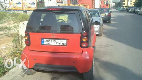 Smart car for two passion 2002 red great condition fortwo mercedes