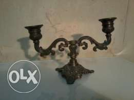 Italian Bronze chandelier, 40-50 years old, 15$