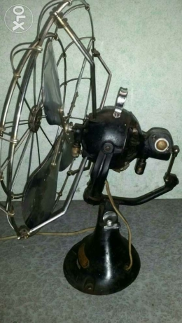 Antigue Very old fan (orbit)made in england 1930 انطلياس -  5