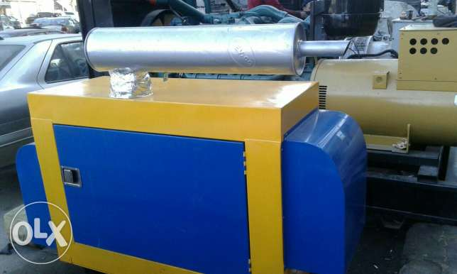 Silencer for Generator Perkins 25 KVA دابو كاتم للمولد ٢٥