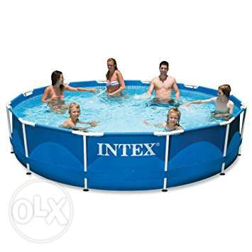 intex swimming pool+cover and filter