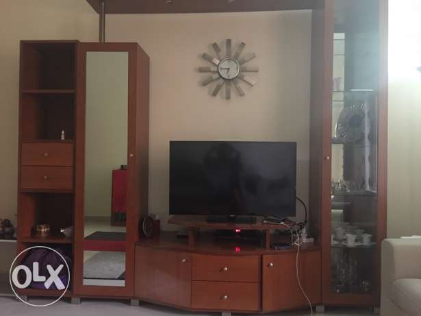 TV unit with cabinets