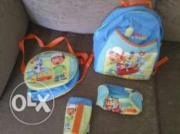 School bag handy manny 4 pieces