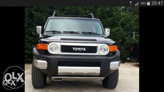 Toyota Fj cruiser black & black TRD special edition from Texas brand n