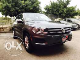 VW Tiguan 2012 Grey