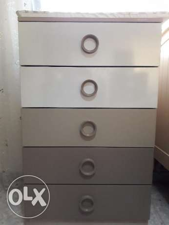 Baby cabinet drawers