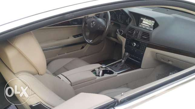 Mercedes e 350 coupe 2010 ajnabiyi amg line color pearl white loulou أشرفية -  8