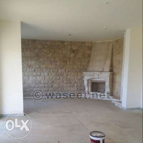 Apartment for sale in a quiet area in bchamoun with a terrace and view بشامون -  2
