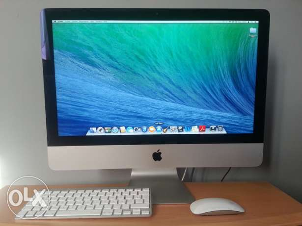 IMAC core i5-240ssd-8gb ram 21.5 inch keyboard mouse original