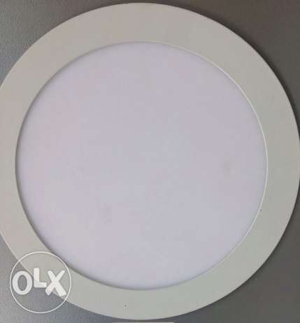 led light 18w round white مخفي