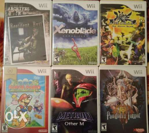 nintendo [wii] games for sale ntsc الصالحية -  1