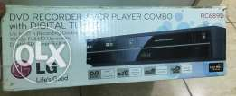 DVD recorder with vcr combo new boxed