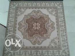 120*120 floor tiles decorated