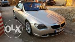 BMW630 Convertible, Very Clean 120'000km mod2006 no accident
