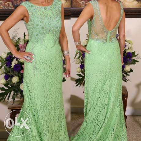 Evening Dress - High End Quality and Finishing