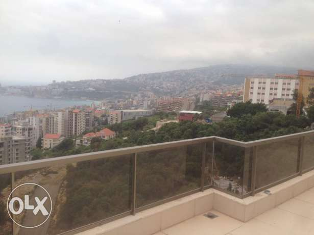Great view over jounieh bay ,green spaces