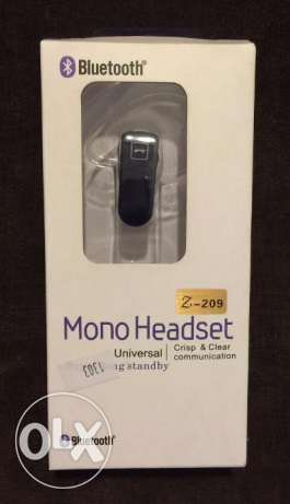 Mono Headset Bluetooth غازير -  1