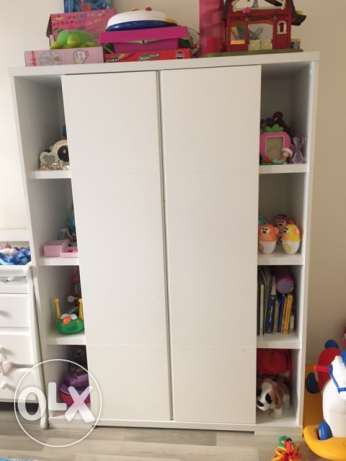 Baby Closet and Bed