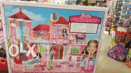 barbie home large not open