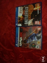 NBA 2k15 and Battlfield Hardline