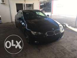 BMW 328 convertible 2008 ajnabieh sport package navigation black black
