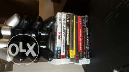 Ps3(500GB)+3controllers+7games (used)(190$)