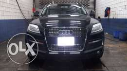 Q7 premium plus black black 2008 like new california 5ere2 ktir ndif