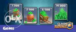 Clash royale gems (IOS)