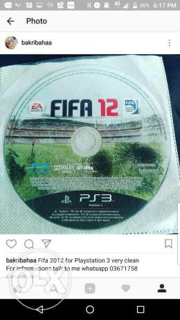 Fifa 12 and 13 for ps3