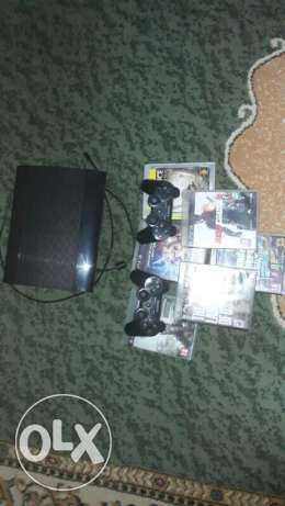 ps3 for sale with 6 cd and perfect condition
