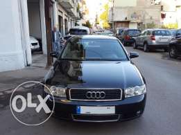 2003 Audi A4 2.0 Black/Black Company Source & Maintenance 90000 Km