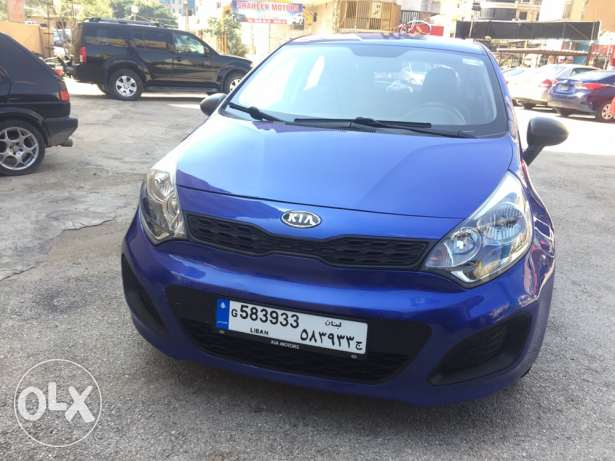 kia rio model 2012 very clean car madfou3 2017