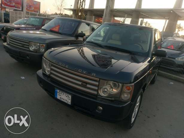 Range rover vogue 2003 in excellent conditions
