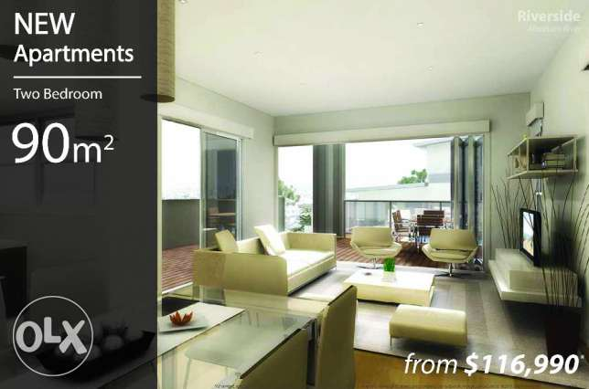 Apartment in Nahr Ibrahim near sea $116,995 (Abraham River, Byblos)