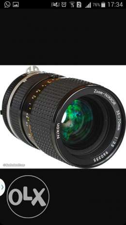 Wanted Nikkor 35-70mm f3.5 AIs for around 100$
