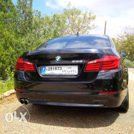 bmw 5 series 2011 black on black