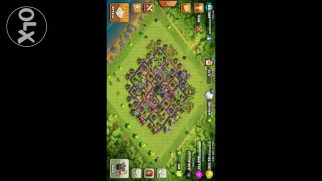 Clash of clans lvl9