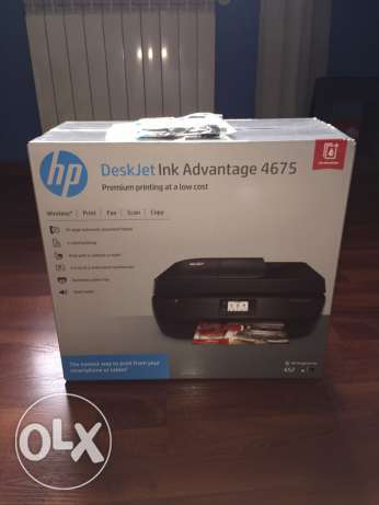 Printer: DeskJet Ink Advantage 4675