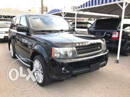 RR sport 2010 hse luxury black on blackLand Rover