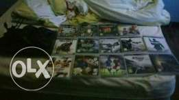 play station 3 and games men franca