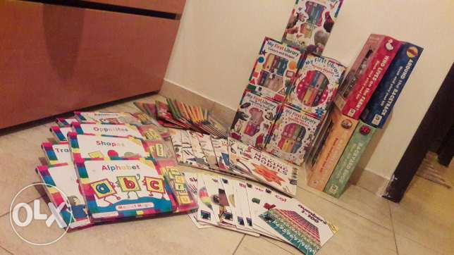 Kids books+ 2 encyclopedia sets كسروان -  1