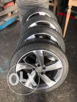 """jante 18"""" with tires"""