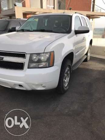 TAHOE LT 2008 white/leather black 2008 4WD american car
